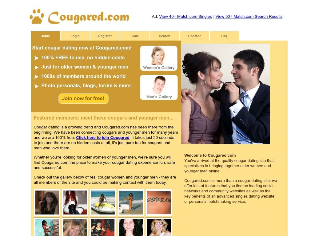 Cougared Dating Service Post Thumbnail